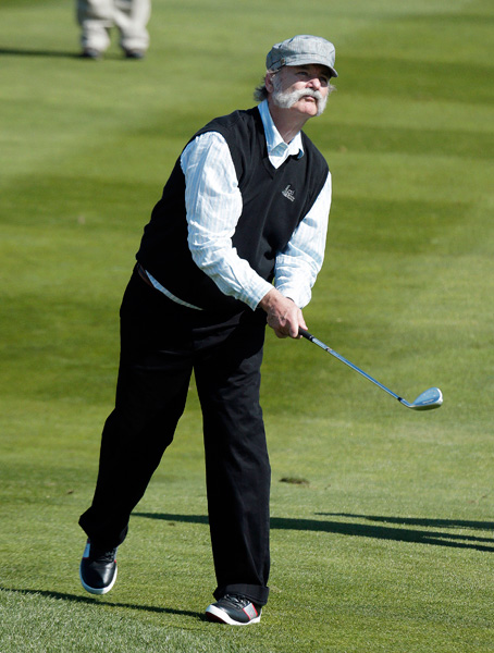 Here are some of the notable celebs playing this week at the Pebble Beach Pro-Am.                                                      Bill Murray.