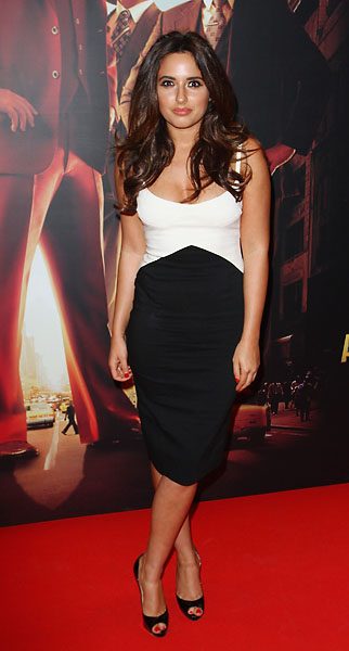Nadia Forde attends the Irish premiere of 'Anchorman 2: The Legend Continues' on Dec. 9, 2013 in Dublin, Ireland.