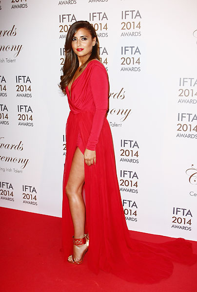 Nadia Forde attends the Irish Film And Television Awards on April 5, 2014, in Dublin, Ireland.