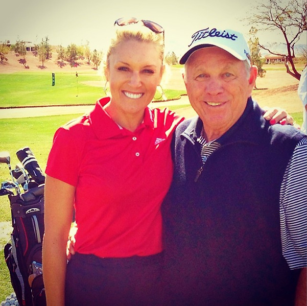 @Natalie_Gulbis Our 13th year working together. It's been such a blessing to work with the best instructor in Golf. I am most thankful for the incredible mentor he has been for me both professionally and personally. Every lesson and day I get to spend with Butch is a lesson in golf and life.
