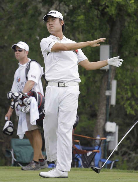 "Kevin Na, Valero Texas Open: Na's 16 on the ninth hole during the first round set the PGA Tour record for the worst score on a par 4. According to the AP, his disaster ""included an unplayable lie from the tee, a two-stroke penalty after the ball ricocheted off a tree and struck him, and five consecutive strokes from the woods."""
