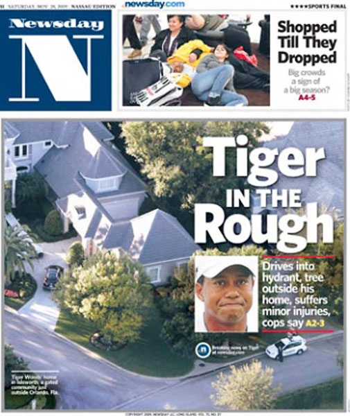 Newsday — November 28, 2009