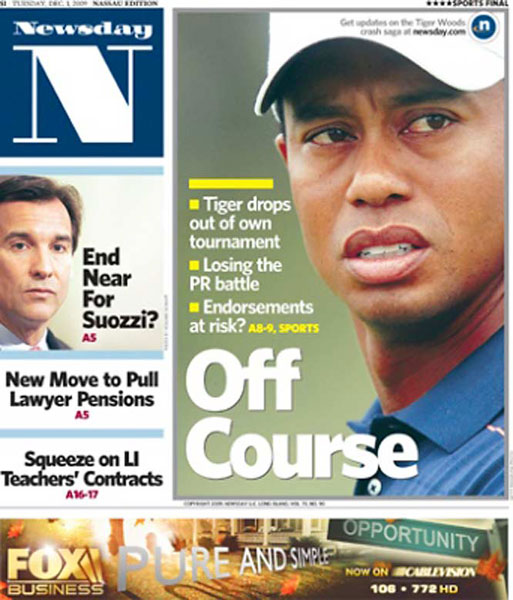 Newsday — December 1, 2009