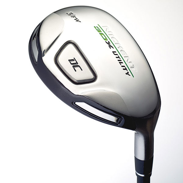 "Nickent 3DX DC Utility                           $ 169, graphite; nickentgolf.com                                                                                 WE TESTED                           3 (15º), 5 (19º) and 7 (21º) with UST SR2 SpeedRated graphite shaft                                                                                 THE COMPANY LINE                            ""A wider body and lower, deeper center of gravity than 3DX DC Ironwood produces higher launch and more spin. Two 20-gram polymer-tungsten                           weights enhance forgiveness. Longer shafts promote a sweeping, wood-like swing.""                                                                                 OUR TESTERS SAID                                                                                 PROS                                                                                  ""This batch is more forgiving for distance than previous Nickent hybrids."" — Michael Kaye (handicap 14 )                                                                                 ""The 3DX is sneaky long off the tee. Balls just keep going. Trajectory and ball flight pattern are easily modified by slight changes in my setup                           position ."" — Rich Bernstein (15 )                                                                                 ""You can work draws and cuts off the tee precisely."" — Matt McKeon (0)                                                                                 ""It excels in terms of distance off the tee."" — Jon Kotraba (10 )                                                                                 CONS                                                                                  ""Feel can be a dull thud, which doesn't measure up to the good look of the club."" — Robert Friedrich (8)                                                                                 ""I expected these hybrids to be higher on the directionalforgiveness totem pole."" — Rich Sullivan (12 )"