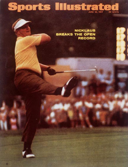 Jack Nicklaus wins the 1967 U.S. Open at Baltusrol, June 26, 1967