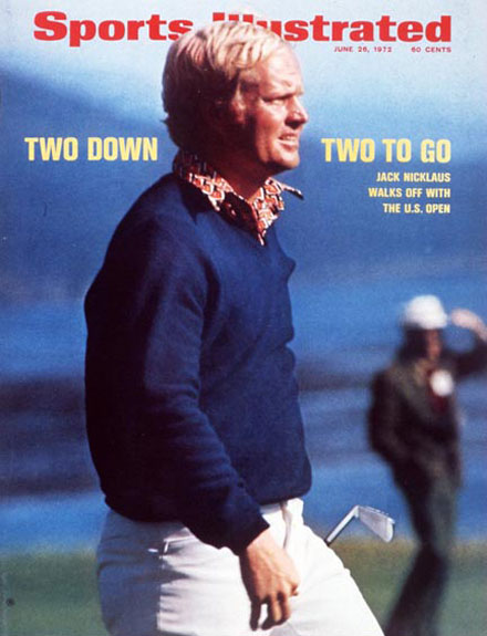 Jack Nicklaus wins the 1972 U.S. Open at Pebble Beach, June 26, 1972