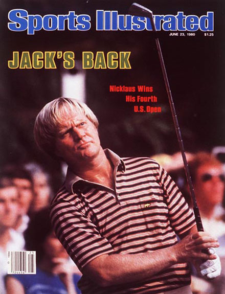 Jack Nicklaus wins the 1980 U.S. Open at Baltusrol, June 23, 1980