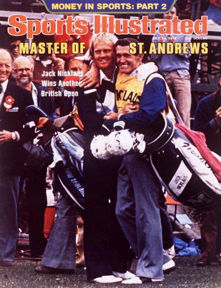 Jack Nicklaus wins the 1978 British Open at St. Andrews.