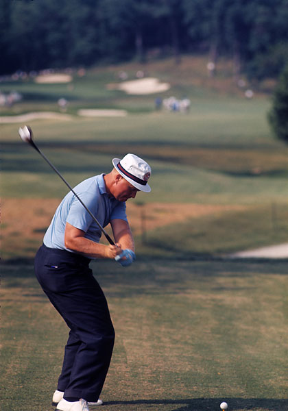 Jack tied for 31st at the 1965 U.S. Open at Bellerive.