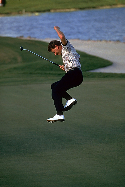 7. Price in 1994: World No. 1 Nick Price trailed Brandel Chamblee by three heading into the final round. Chamblee played respectably on Sunday, but got steamrolled anyway, as Price hit all 18 greens in regulation, shooting 66 in the process, highlighted by a double-breaking, 35-foot birdie putt at 17. He needed it. Right behind him, Craig Parry holed a 40-foot chip on the same hole. Parry, however, couldn't birdie 18, giving Price his one-shot cushion.