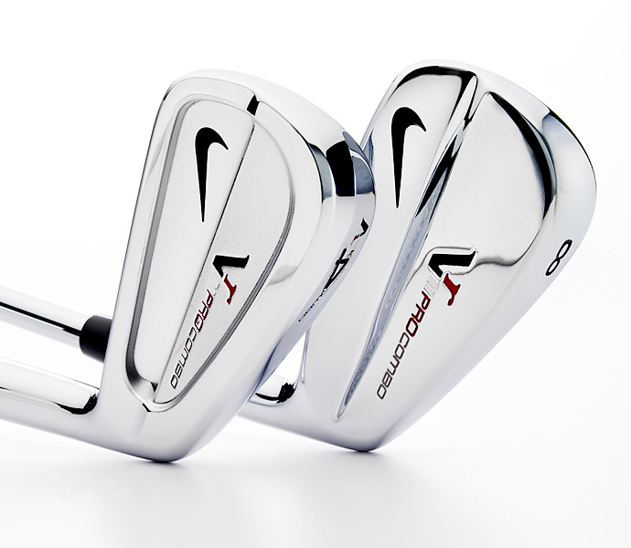 Irons:  Nike VR Pro Combo (3-PW)