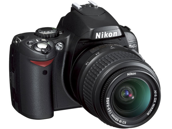 Nikon D40                       $549.95, nikonusa.com                       Capture stunning images of junior's first swing, or take your own pictures of golf landscapes with this popular model from Nikon. Just don't take any pictures around Tiger's caddie.                       Also try:                                              Sony Cyber-shot DSC-N2                       Canon Powershot A560Complete Holiday Gift Guide