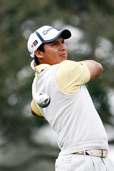 5. Andres Romero                       	World rank: 24                       	Wins: 1 (6 others worldwide)                       	 The young Argentine won in New Orleans this year, and he's the guy who should've won last year's British Open at Carnoustie. He turned a 10-birdie final round into a third-place finish thanks to a freak-bounce double bogey at the 17th and a failed up-and-down at the 18th. His career may well exceed that of Angel Cabrera, a fellow Argentine who won last year's U.S. Open.