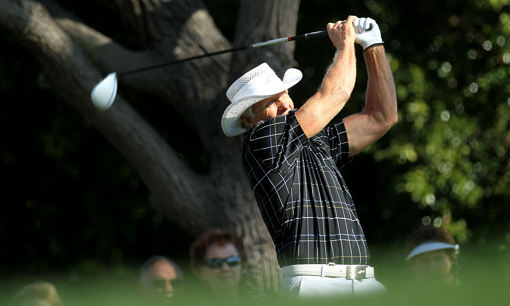 56-year-old Greg Norman is making a rare appearance on the PGA Tour this week.