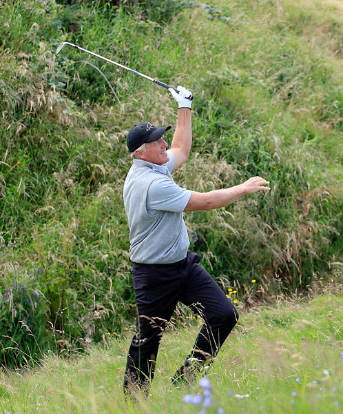 Norman, who has two British Open titles to his name, has never won the Senior Open.