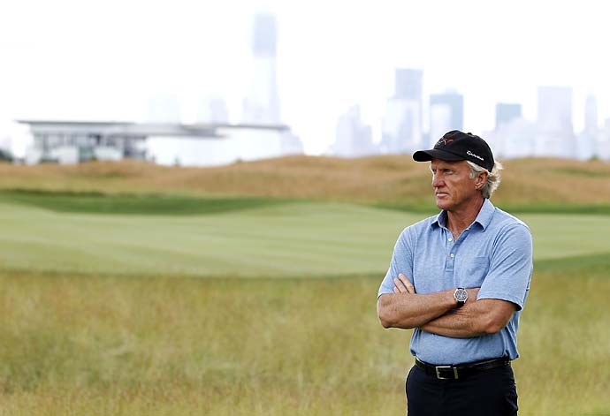 """If I had to do things again I'd probably bring in an inner core of people, like maybe a sports psychiatrist.""                           --Greg Norman on why he didn't win more."