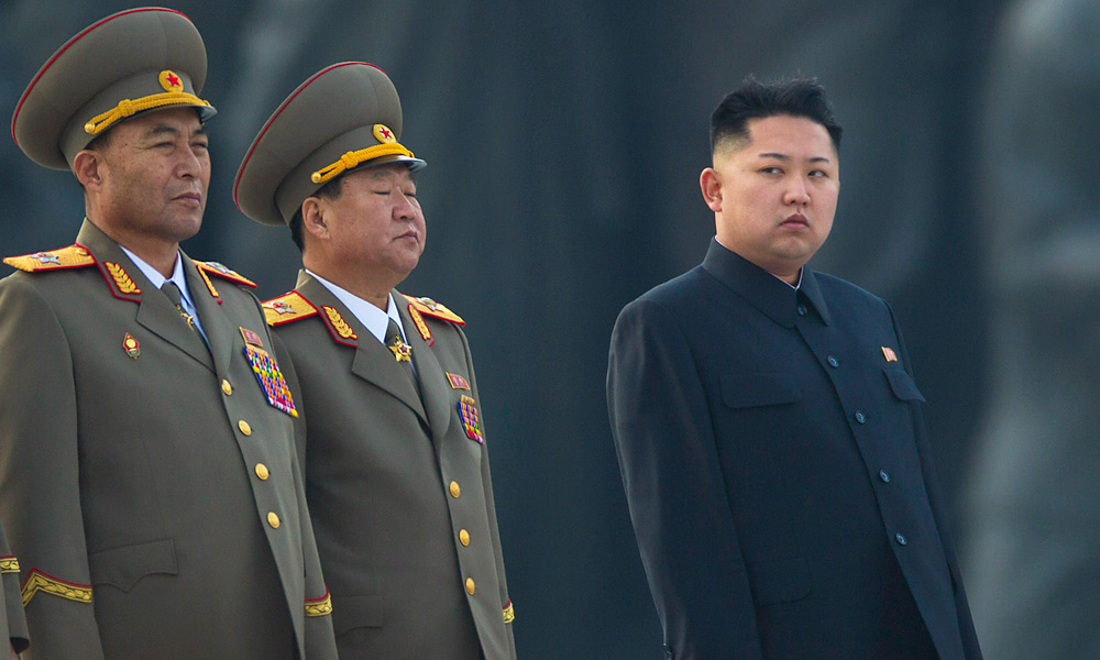 LIKE FATHER, LIKE SON: North Korea's new leader, Kim Jong-un (right) in 2012.