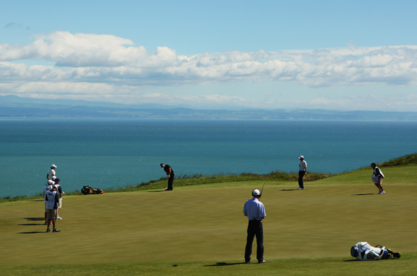The Kiwi Challenge is a 36-hole exhibition for players under 30.