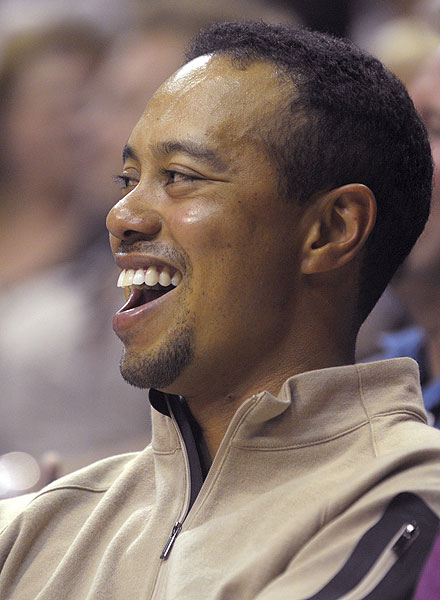 Woods also took in an Orlando Magic-Chicago Bulls game on Nov. 3. The Magic won 96-93.