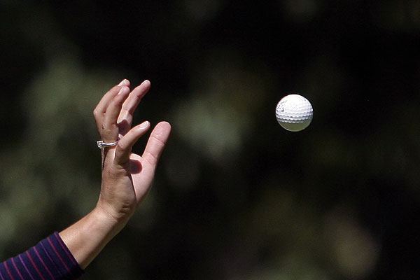 Lorena Ochoa hosted the Lorena Ochoa Invitational this week in Guadalajara, Mexico. She's engaged to 39-year-old Andres Conesa, the director general of Aeromexico airline, one of her sponsors.