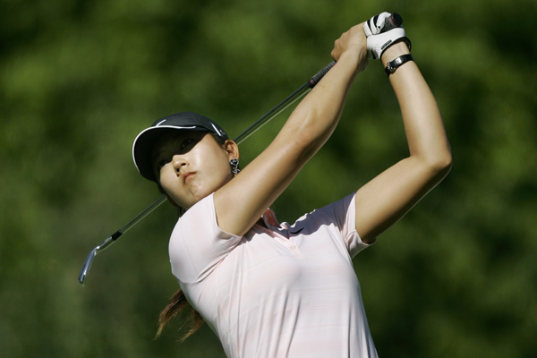 Michelle Wie is tied for the lead with Cristie Kerr heading into the final round.