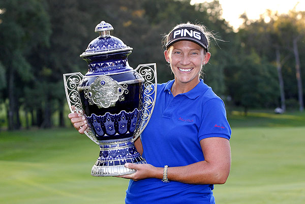 Final Round of the Lorena Ochoa Invitational                       Angela Stanford closed with a 3-under 69 for her third LPGA title.