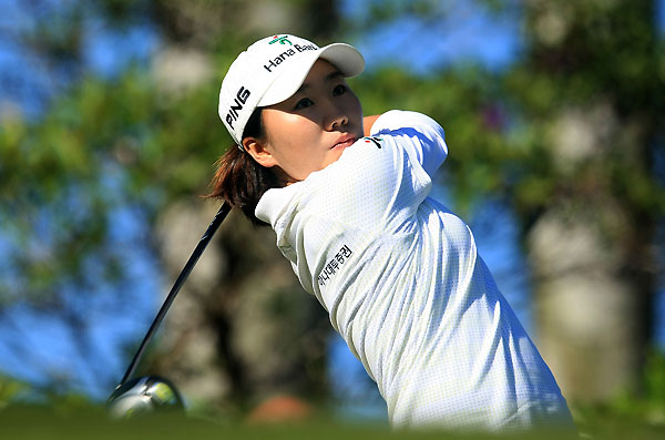 In-Kyung Kim shot a 2-under 69 in the first round.