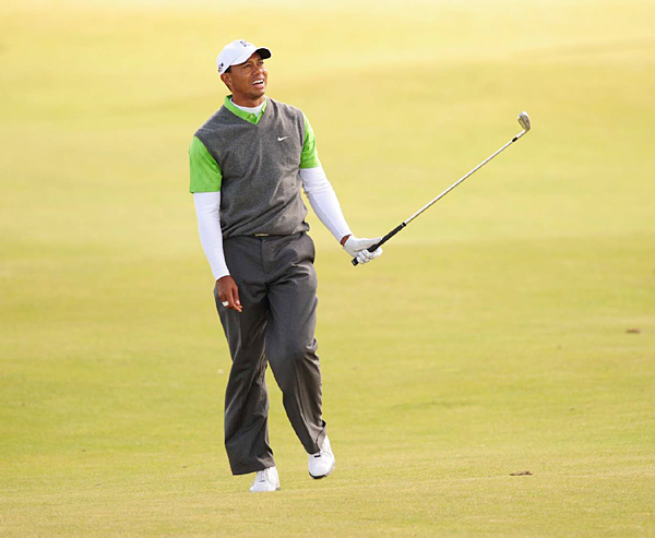 "BRITISH OPEN, July 18                                                      On the course                           Finishes 13 shots back at St. Andrews, the same Open site where he won by eight strokes in 2000 and five shots in 2005.                                                      Off the course                           When asked at a charity event in Ireland whether his transgressions had been ""worth it"" since it cost him his marriage and endorsements, Woods replies, ""I think you're looking too deep into this.""                                                      Perceived stress level:                                The British press continues to pry at St. Andrews, but Tiger's greatest source of angst may be his putter, which he switches out for the first time in 11 years."