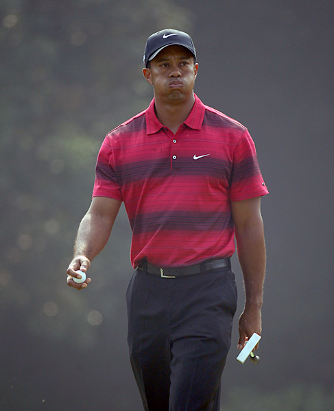 Nov. 7 - Woods shoots 68 and ties for sixth, 12 shots behind Francesco Molinari, in the HSBC Champions. That officially ends Woods' streak at 14 consecutive years with at least one PGA Tour victory.