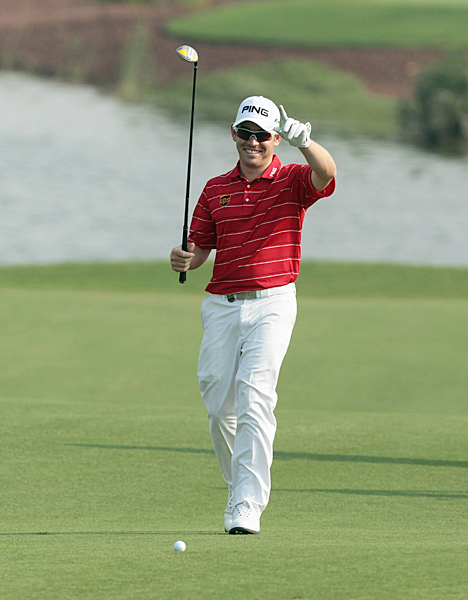 also had a breakout year in 2010, winning the British Open at St. Andrews.