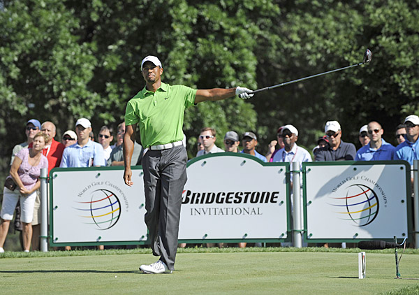 Aug. 8 - Instead of going for his eighth victory at Firestone, Woods only beats one player in the field at the Bridgestone Invitational. He posts the highest 72-hole score of his career (298) to finish in a tie for 78th.