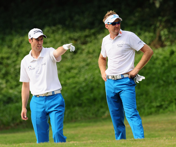 Wild Guess: Ian Poulter, not Ross Fisher, picked out the team uniforms on Friday.