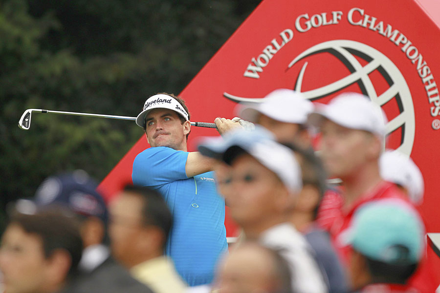 Keegan Bradley made five birdies and an eagle for a seven-under 65 and a two-shot lead.