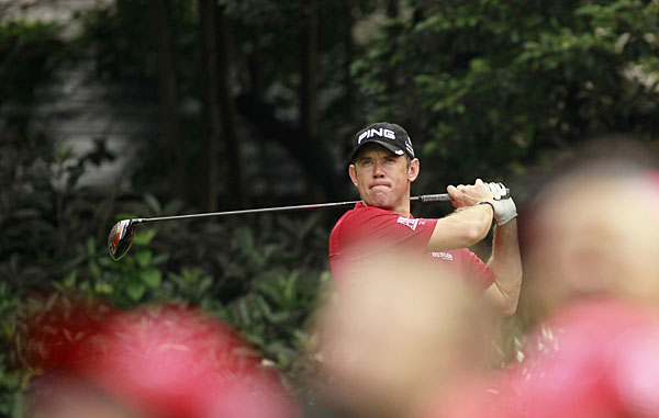 Lee Westwood moved into contention with a four-under 68.