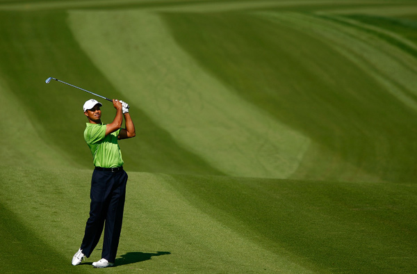 Tiger Woods has won 16 of 30 World Golf Championship events, but he has yet to win the HSBC Champions.