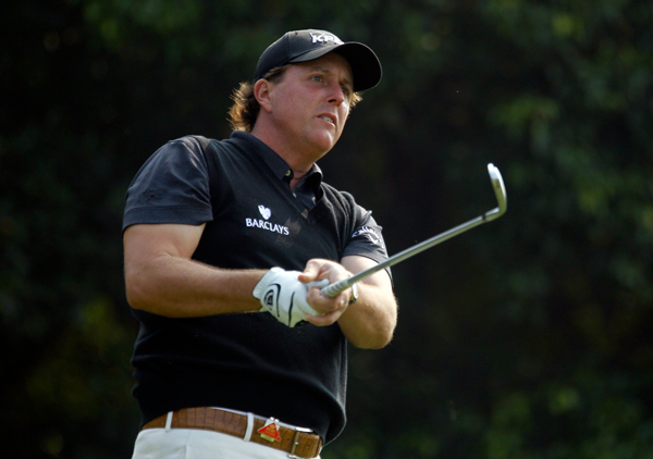 Phil Mickelson                       Majors before 35: 1                       Majors after 35: 3