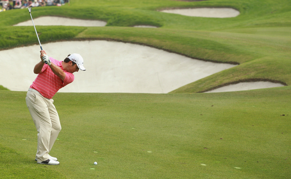 shot a 5-under 67 for a one-shot lead over Lee Westwood heading into the final round.