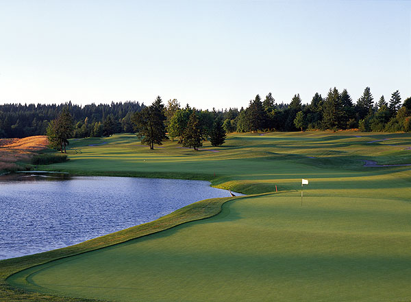 No. 9. Portland, Ore.                       Population: 2,125,611                       Median home price: $289,900                       Number of public courses: 48.5                       Median green fee: $44                                              THE GOLF: Imagine the weather and wonder of the highlands, without that pesky peer pressure to wear kilts. Portland's Scotland-like weather is gorgeous, green, and you can play all year long. Our favorite track is Stone Creek Golf Club; with its Mt. Hood vistas and $35 weekend greens fees, it's a value version of the semi-private Pumpkin Ridge.                                               THE REST: Mountains, coast, desert, scenic wonders like the Columbia River Gorge and Mt. St. Helens — Portland is a nature lover's paradise. Throw in the friendly locals, a crackling downtown scene and microbreweries, and you've got a town you'll want to set up golf camp in.                                              • Perfect Day of Golf in Portland                                              The Ghost Creek course at Pumpkin Ridge GC (18th hole, left) is a tough test in a gorgeous setting.