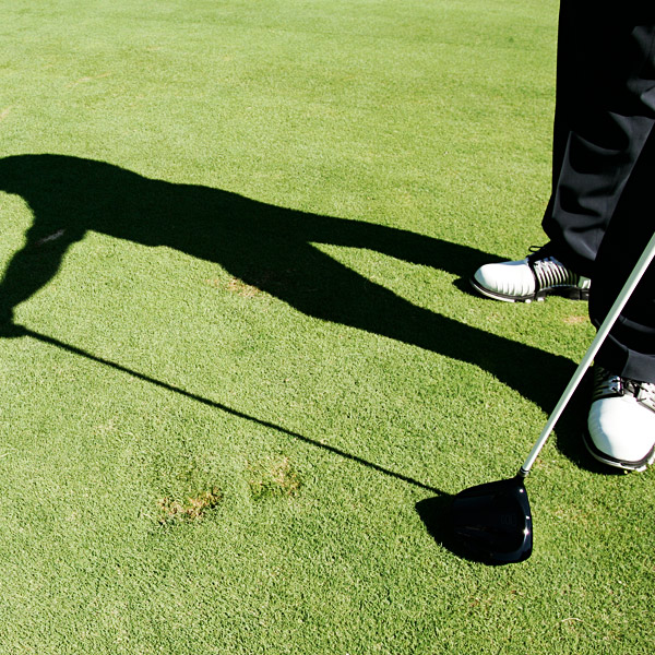 "2. Leave a mark                           ""I like to raise my left heel in my backswing. This isn't a fashionable move, but I'd rather copy the likes of Hogan and Nicklaus than follow the swing fad du jour. On my downswing, I replant my heel and dig it in to establish a firm left side that I can turn hard against. When I'm hitting it good, I'll leave a single, noticeable footprint in the ground."""