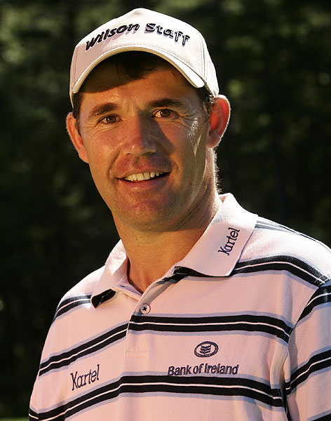 "Four-Leaf Closer                            Padraig Harrington repeated at the British Open thanks to a straightforward swing based on four key moves. After last year's Open victory, Golf.com talked with him about his swing.                                                       By David DeNunzio                                                      Sergio might think he lost it, but the 2007 British Open was won fair and square by hard-hitting Irishman Padraig Harrington. Only a wild drive by Harrington on the 72nd hole gave Garcia a fighting chance, but he missed a putt Harrington made moments earlier.                                                      After doing his best Jean Van de Velde impression by amassing two penalty strokes on the final hole, Harrington surprised no one when he got up and down after his second drop. He's the 10th best scrambler on Tour, and when his driving game is on — like it was for the 71 holes that preceded his near-disaster — he can pound it out there with the best of them.                                                      ""I don't think about my swing during a round,"" says Harrington. ""If it's off, I'll find the problem on the range, and then try to fix it at home or in my hotel room. When I'm playing, I simply rely on a few simple moves that I know are going to produce a good strike.""                                                      Win the Claret Jug with just four moves? ""Yes. There's a lot more going on, of course, but these four will make it difficult for anyone to hit the ball poorly, even high-handicappers."""