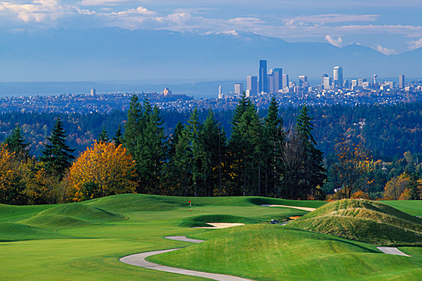GET YOUR FILL                       Four more former landfills that morphed from dumps into dandies                                              The Golf Club at Newcastle (Coal Creek Course)                       Newcastle, Wash.                       Hilly terrain and Seattle skyline views highlight this 7,024-yard Bob Cupp/Fred Couples design.                       Greens fee: $110-$160                        Contact: 425-793-5566, newcastlegolf.com