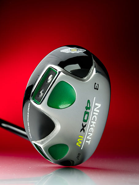 "November 2007: Hybrids                           Winner: Nickent 4DX Ironwood                           $179, steel; $199, graphite; nickentgolf.com                           Equipment Finder Profile                                                      WE TESTED: 2+ (15.5°), 2 (17°), 3+ (18.5°), 3 (20°), 4+ (21.5°), 4 (23°) and 5+ (24.5°) in SR3                           graphite shaft                                                      COMPANY LINE: ""Uses a patented brazing technology                           that fuses titanium                           crown with steel                           body. Tungstenpolymer                           XW inserts                           reduce vibration.                           Taller face height (by                           2mm) than 3DX                           means lower spin                           and a more penetrating                           ball flight.""                                                      OUR TEST PANEL SAYS:                           Pros:                           Easiest of the four to shape                           shots from fairway; shallow head knifes                           through any lie; nice heft stabilizes the                           swing; longer than average on good                           strikes; crisp response, a solid pop on                           contact, and stable at impact; best for                           forgiveness, mis-hits often land only five                           to 10 yards short of good shots;                           produces a tight, controlled shot pattern.                                                      Cons: Forgiving, yet results require                           solid ball-striking for high handicappers                                                      Excellent from tough spots, the                           club drives the ball from high                           grass. — Jon Kotraba, 10 handicap"