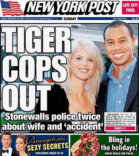 New York Post — November 29, 2009