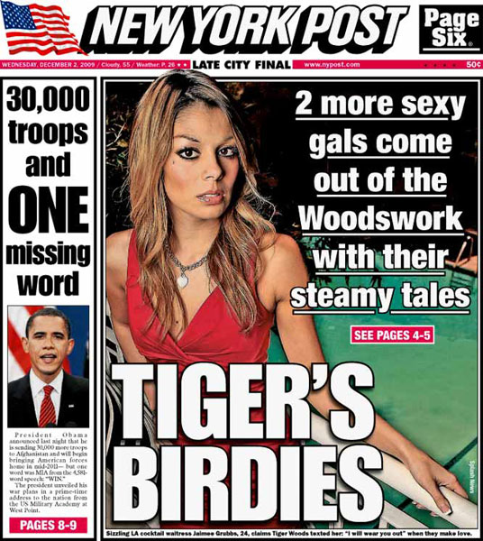 New York Post — December 2, 2009