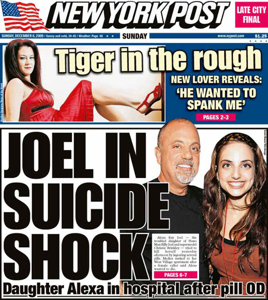New York Post — December 6, 2009