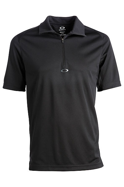 "Oakley Accomplished Golf Shirt ($70 at oakley.com)                           Basic black and modern in its simplicity, the ""Accomplished"" golf shirt from Oakley is made of moisture-managing, antibacterial fabric, with UV protection and engineered mesh and side panels for movement. It will look good with almost anything."
