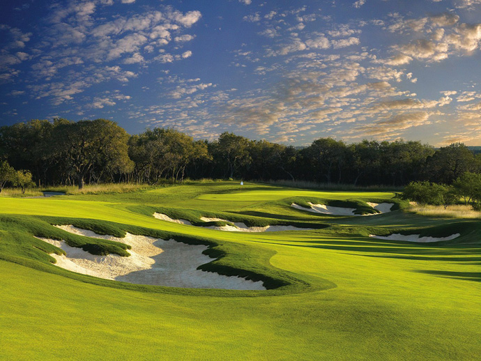 JW Marriott San Antonio Hill Country/TPC San Antonio (AT&T Oaks) -- San Antonio                           Slender fairways, steep bunkers and abundant oaks define this 2010 Greg Norman/Sergio Garcia collaboration that serves as the home to the PGA Tour's Valero Texas Open. ($159-$249; 210-491-5800, jwsanantonio.com)