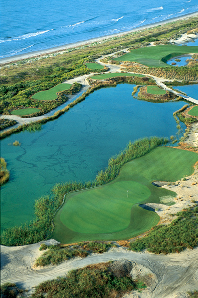 Before you visit Charleston, here's a preview of some of the golf courses you can play.                       The Ocean Course at Kiawah Island Resort | Kiawah Island, S.C.                       Green fees: $275-$360; 843-768-6000; kiawahresort.com