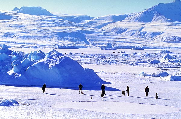 A closer look at the World Ice Golf Championship                       At the Drambuie World Ice Golf Championship in Uummannaq, Greenland, the temperature can fall below 50° C.                                               Golf's Frozen 4 | Winter Survival Guide