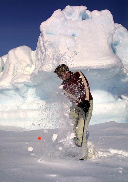 Annika Ostberg won the tournament in 2001.                       Golf's Frozen 4 | Winter Survival Guide